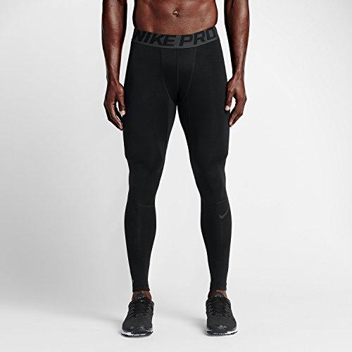 Nike Pro Winter Tight - NIKE Men's Pro Hyperwarm Compression Training Tight Black/Dark Grey/Dark Grey SM X 26