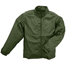 5.11 Tactical Series Men's Packable Jacket, Sheriff Green, Large