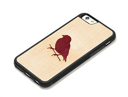 CARVED Bird Inlay iPhone 6/6s Traveler Case