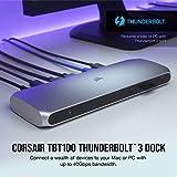 Corsair TBT100 Thunderbolt 3 Dock – 85W