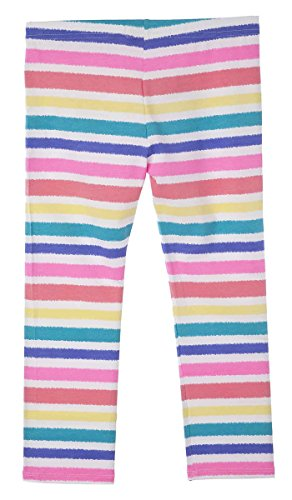 OFFCORSS Printed Colorful Lycra Leggings Leg Warmers Ankle For Kids Teen Big Girls Pants Pink Pantalones Ropa para Niña Rosado Talla Size (Tween Leggings)