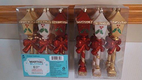 Light House Shape Christmas Tree Topper (6-Pack)