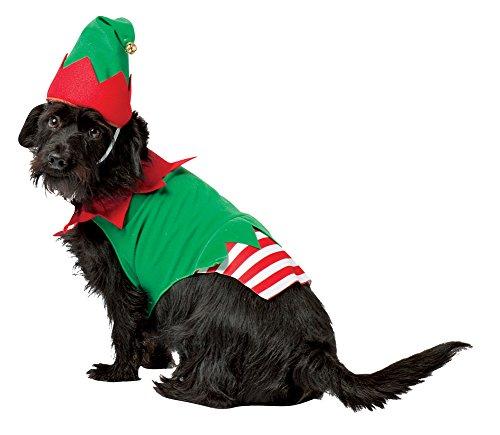 [Rasta Imposta Elf Dog Costume, X-Large] (The Elf Costume Prices)