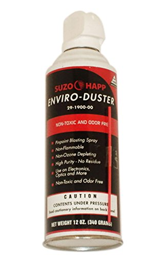 Suzo Happ Enviro-Duster Electronics Cleaner Canned Air 12 oz