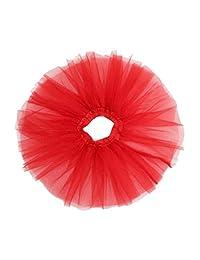 Women A-Line Muiti-color short petticoat crinis Girls