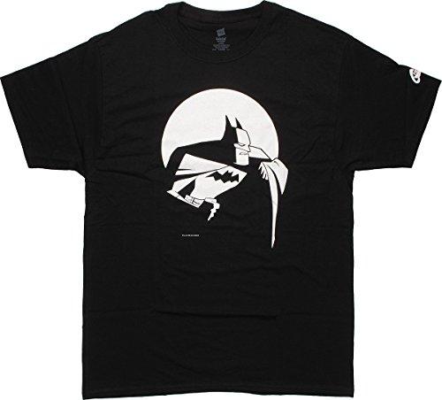 Batman Moon T-Shirt, X-Large ()