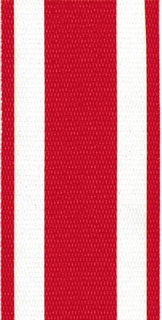 Lawn Chair USA Re-Web Kit (2 1/4 Without Clips, Red and White)