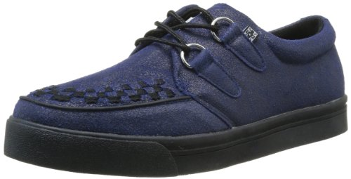 T.U.K. Men's A8593 Fashion Sneaker,Blue/Black,9 M US by T.U.K.