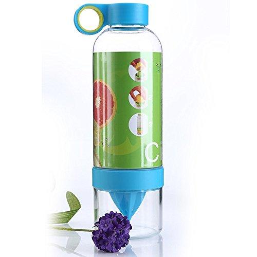 Water Bottle Plastic Juice Source Vitality Fruit Cup 800ml Drinkware Outdoor Fun (31 Oz Bottle)