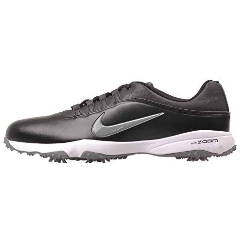 NIKE Men's Air Zoom Rival 5 Golf Shoes, Black/Cool Grey/White, 11.5 M US