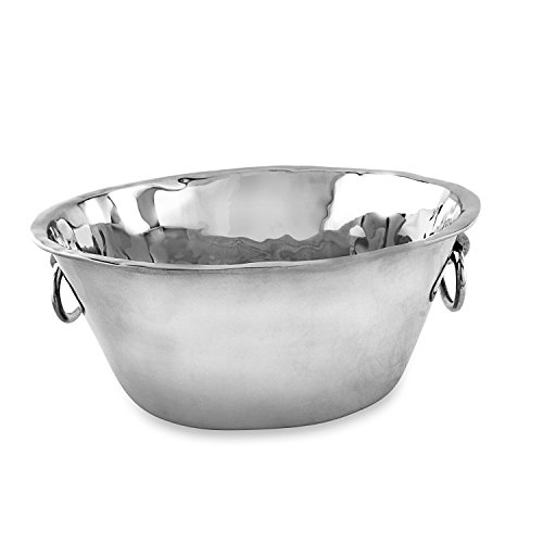 Beatriz Ball Large Soho Ice Bucket with Handles, Metallic by Beatriz Ball