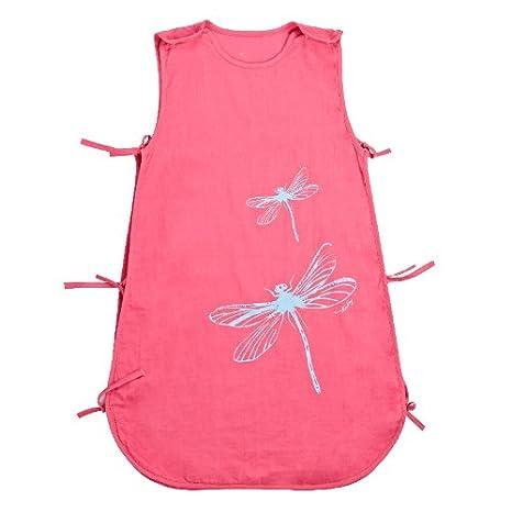 Bebé Recién Nacido Sacos de Dormir Muselina Algodón Bolsa de Sueño para niñas niños suave respirable verano 0 6 12 18 24 meses 80 cm Rosa: Amazon.es: Bebé