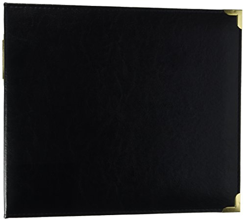 - Project Life Faux Leather Album, 12 x 12-Inch, Black and Gold