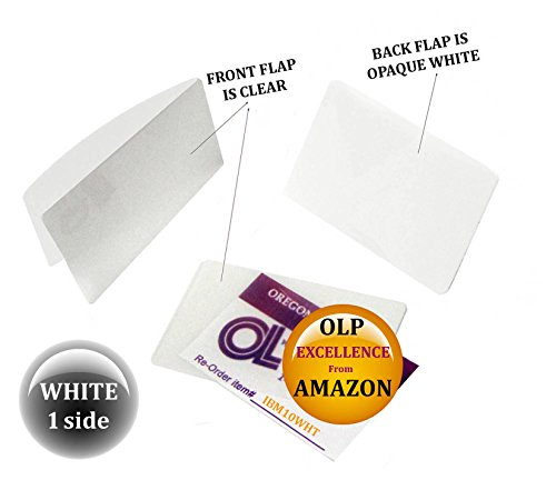 Oregon Lamination Hot Laminating Pouches IBM Card (pack of 300) 10 mil 2-5/16 x 3-1/4 White/Clear by Oregon Lamination Premium