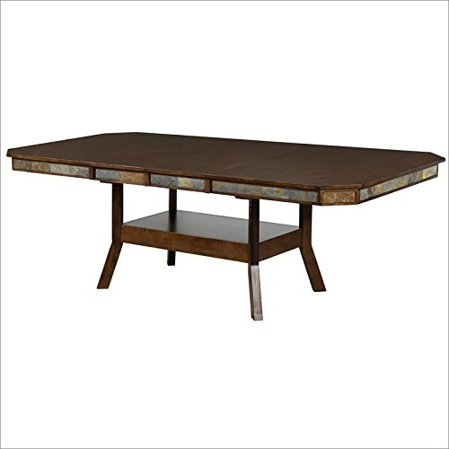 Sunny Designs Santa Fe Extension Table with Double Butterfly Leaf