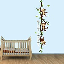 Baby Nursery / Kid Room Wall Decals (Monkey, Owl, Tree, etc designs to choose from)