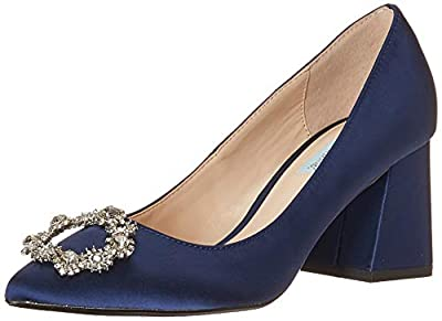 Blue by Betsey Johnson Women's Sb-Lilly Pump