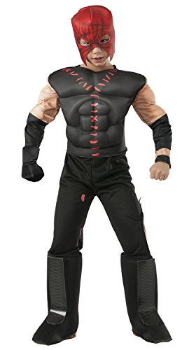 Rubies WWE Deluxe Muscle-Chest Kane Costume, Child Small by Rubie's