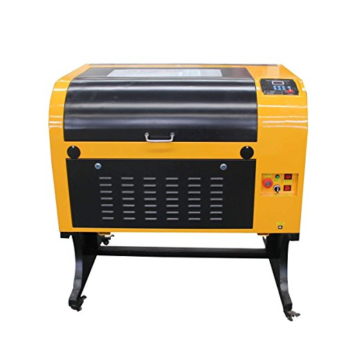 (TEN-HIGH Upgraded Version CO2 400x600mm 50W 120V Laser Engraving Cutting Machine with USB Port)