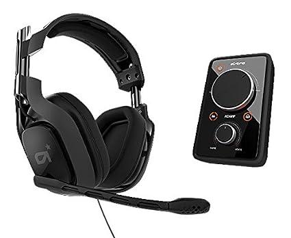 Astro A40 - Auriculares con micrófono, negro