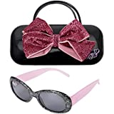 KIDS SUNGLASSES – GIRLS 100% UV SUNGLASSES W BONUS FUZZY OR HANDLE CASE, FROZEN, MINNIE, MOANA, TROLLS