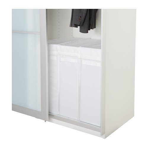 Ikea Skubb Sac à Linge Avec Support Blanc 80 L Amazon