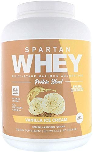 Whey Fantastic 5LB 100 Pure Grass Fed Whey Protein – Unflavored Bulk – Optimum Blend of Undenatured Whey Isolate, Concentrate Hydrolysate – Non-GMO, Soy Gluten Free – 75 Servings