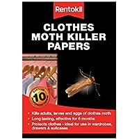 Rentokil Polilla de la ropa del asesino Papers