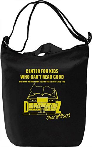 Center For Kids Borsa Giornaliera Canvas Canvas Day Bag| 100% Premium Cotton Canvas| DTG Printing|