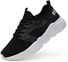 Belilent Men's Lightweight Fashion Sneakers Casual Walking Shoes for Indoor Outdoor Travelling Gym Workout