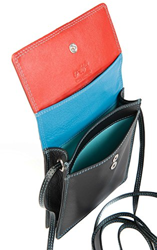 Tropical NECK CHOOSE FROM CROSSBODY WOMENS 7 GOLUNSKI COLOUR'S TRAVEL LEATHER BAG PURSE Haze GRAFFITI 3 131 TO Black qRHWwtxTBP