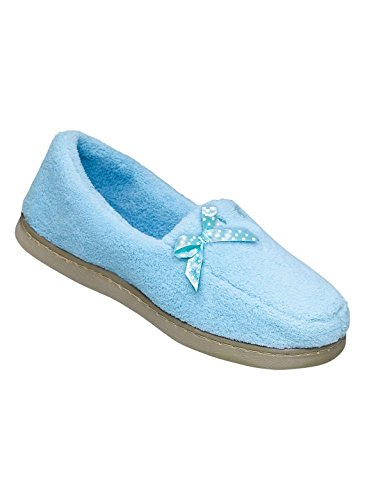 Ribbon Terry Slipper Blue DIgucTUxK