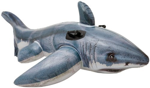 "Intex Great White Shark Ride-On, 68"" X 42"", for Ages 3+ -  57525EP"