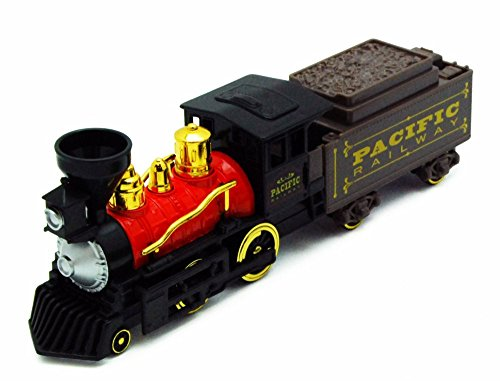 Showcasts Classic Steam Engine Train, Black & Red 9932A - 9.75 Inch Scale Diecast Model Replica, but NO Box