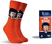 NHL – Official Licensed Players Association Socks – Various Hockey Players – Size 7 to 12 - Unisex - Major Lea