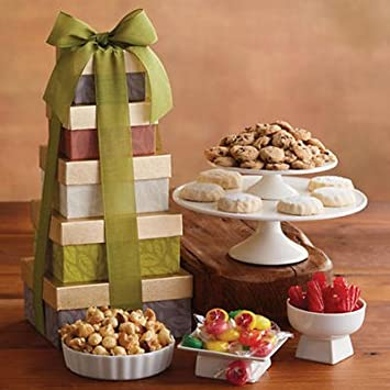 Amazon.com : Tower of Sweet Treats - Gift Baskets & Fruit Baskets ...