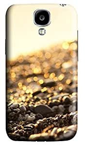 Samsung Galaxy S4 I9500 Cases & Covers - Flashing Textures Custom PC Soft Case Cover Protector for Samsung Galaxy S4 I9500