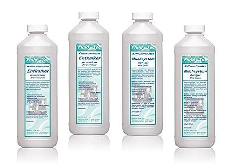 2 x 500 ml fluid-Tec leche limpieza Plus 2 x 500 ml líquido-