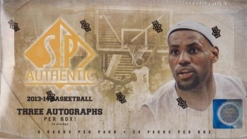 (2013-14 Upper Deck SP Authentic Basketball Hobby Box)