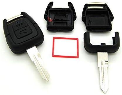 con lama vergine Cover per chiave con telecomando per Opel Astra Vectra Zafira Corsa