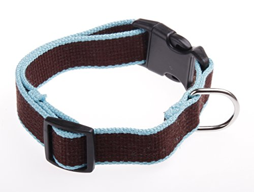 UTowels Bamboo Dog Safety Collar, Small, - Bamboo Collar