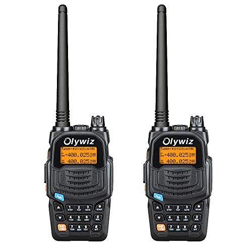 Walkie Talkie 1800MAH Battery Capacity Two Way Radio 2 watt Olywiz-819 Tiny Walkie Talkies UHF 400-470 Walkie talkies Kid//Shopping mall//Outdoor 4 Pack HTD-819