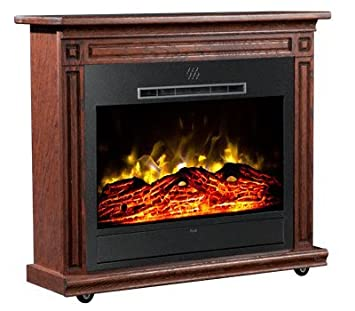 Wondrous Amazon Com Heat Surge Roll N Glow Amish Electric Fireplace Interior Design Ideas Gentotryabchikinfo