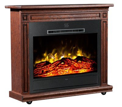Peachy Amazon Com Heat Surge Roll N Glow Amish Electric Fireplace Home Interior And Landscaping Ologienasavecom