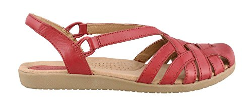 Women's Earth Origins, Nellie Low Heel Sandals CHIANTI 7 M