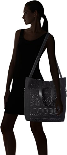 47 Mit Noir Black 39 Cm Sacs Femme X Épaule 001 Praktischem 17 Portés Esprit Innenleben gARqvFq