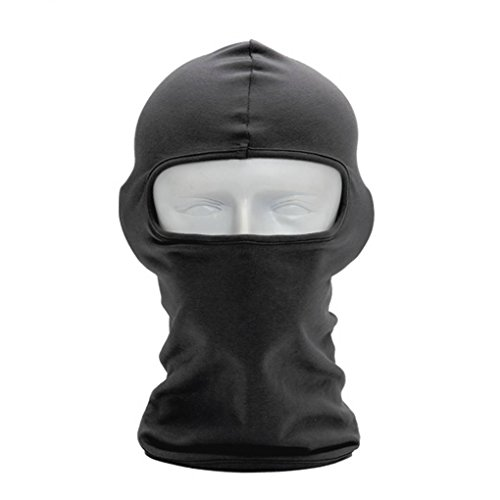 BXT Outdoor Sports Elastic Breathable Sun-resistant Windproof Anti-dust Polyester Bike Cycling Motorcycle Ski Neck Snood Warmer Hood Hat Veil Thin Breathable Full Face Mask Helmet Headgear Balaclava (Head Mask Football)
