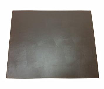 dacasso colors faux leather 17 x 14 table mat