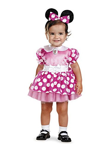 Minnie Mouse Clubhouse - Pink Minnie Mouse Infant Costume 12-18 Months]()