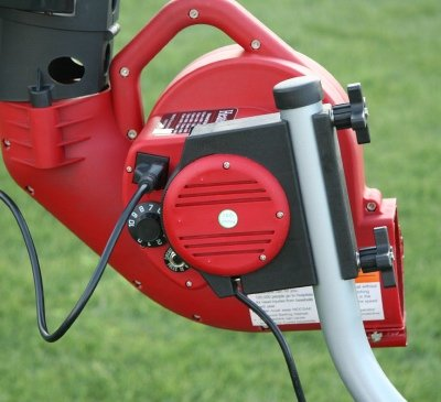 trend sports heater pitching machine